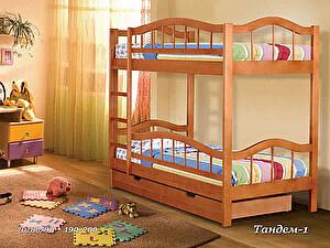 Купить кровать Альянс XXI век Тандем 1, двухярусная 70х190