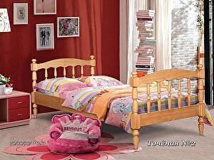 Купить кровать Альянс XXI век Точеная 2 одноярусная 70х190