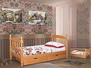 Купить кровать Альянс XXI век Точеная одноярусная 70х190