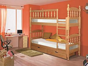 Купить кровать Альянс XXI век Точеная 2-ярусная