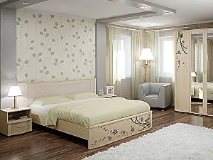 Кровать Арника Сорбонна СБ-10 двуспальная (160)
