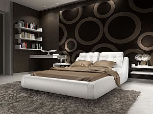 Кровать Гармония Manhetten (Mango)