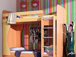 Купить кровать Гармония двухъярусная Карлсон Дуэт-1 14.711