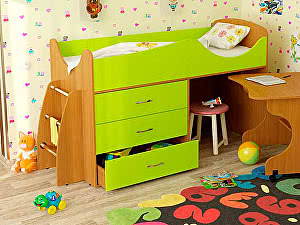 Купить кровать Гармония чердак Карлсон Микро-203