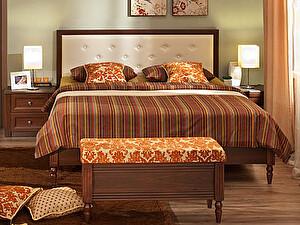 Кровать Глазов Montpellier 2, орех шоколадный (160)