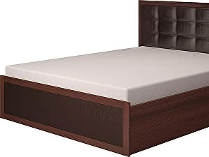 Кровать Ижмебель Аргентина с подъемным механизмом (160) с мягкой спинкой, мод.16