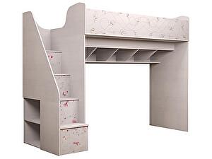 Купить кровать Ижмебель Принцесса 18 универсальный с лестницей