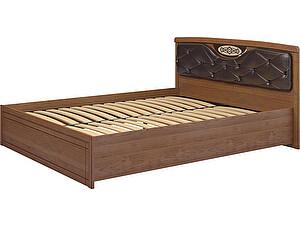 Кровать Ижмебель Лондон (160) и мягким элементом, мод 29