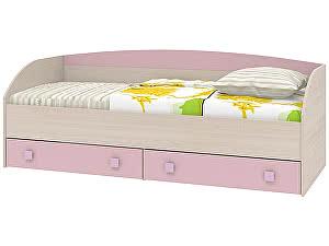 Диван-кровать Интеди Pink, ИД.01.250a (80)