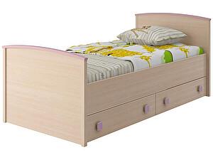Купить кровать Интеди Pink с настилом, ИД.01.94 (80)