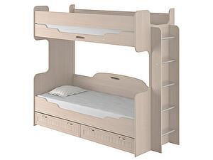Купить кровать Интеди Соната (80) двухъярусная, 01.164а