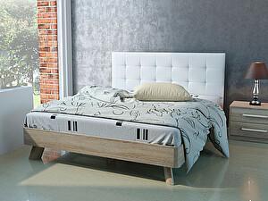 Купить кровать Корвет 69 Серия МК 44 (ель) + спинка СМ 1 (белая classic)