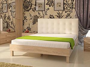Купить кровать Корвет 93.01 Серия МК 44 (ель) + спинка СМ 1 (белая classic)