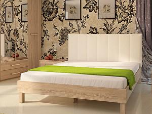 Купить кровать Корвет 93.01 Серия МК 44 (ель) + спинка СМ 2 (белая classic)