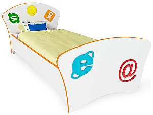 Купить кровать Орма - Мебель Соната Kids 80х195