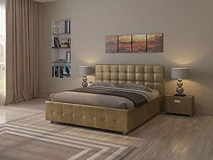 Купить кровать Орма - Мебель Life 3 (цвета люкс и ткань)