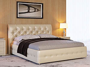 Купить кровать Орма - Мебель Life 4 (ткань и экокожа люкс)