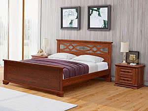 Купить кровать Орма - Мебель Nika М сосна