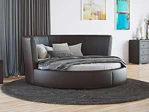 Купить кровать Орма - Мебель Luna (ткань бентлей)