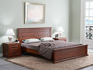 Купить кровать Орма - Мебель Milena М сосна