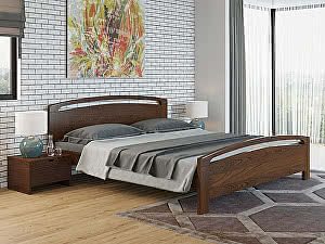 Купить кровать Орма - Мебель Веста 1-R береза