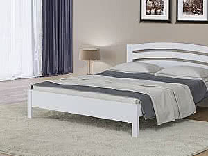 Кровать Райтон Веста 2-тахта-R сосна (белый, слоновая кость)