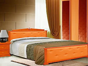 Кровать Шале Авизия кожа