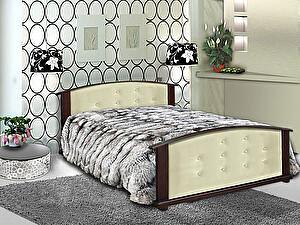 Кровать Шале Милана кожа