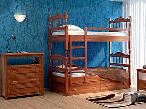 Купить кровать DreamLine Юниор 2х ярусный 70х190