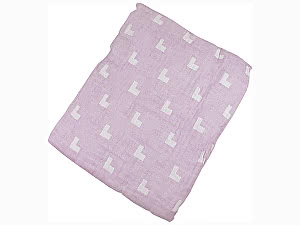 Покрывало Arloni Галочки, розовый