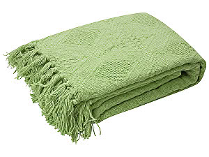 Купить плед Arloni Кокос, зеленый