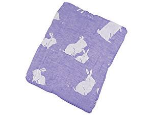 Покрывало Arloni Зайчики, фиолетовый