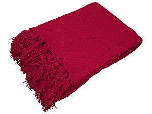 Покрывало Arloni Ницца, темно-красный