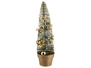 Купить  Polite crafts&gifts co., ltd Декоративное изделие Елочка золотая с украшениями, арт. 160-127
