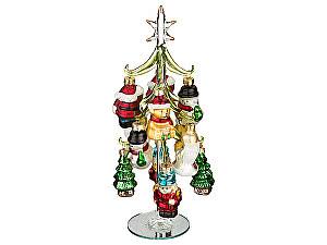Купить  Dalian hantai trade co., ltd Декоративная елочка с шарами, арт. 594-049