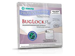 Купить наматрасник Аскона Protect-a-Bed Bug Lock Plus, водонепроницаемый