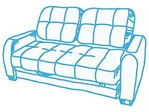 Химчистка 3-х местного дивана