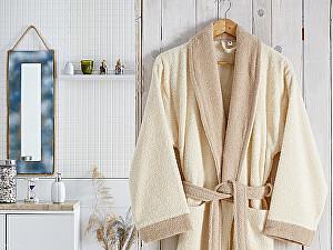 Купить халат Karna Adra S-M, кремовый