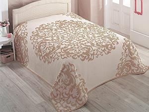 Купить плед Karna Asia 220х240 см, кофейный