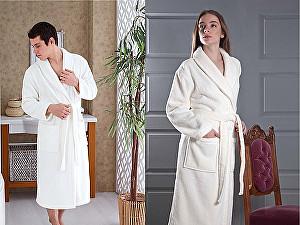 Купить халат Karna Mora L, кремовый