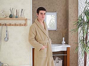 Купить халат Karna Mora L, бежевый