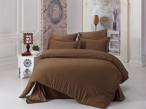 Постельное белье Karna Perla, коричневый