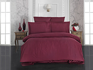 Купить постельное белье Karna Perla, бордовый