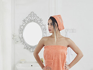 Купить полотенце Karna Pera, оранжевый