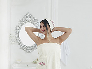 Купить полотенце Karna Pera, кремовый