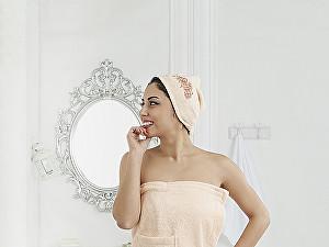 Купить полотенце Karna Pera, абрикосовый