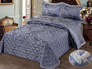 Постельное белье KAZANOV.A. Женевьева с покрывалом, синий
