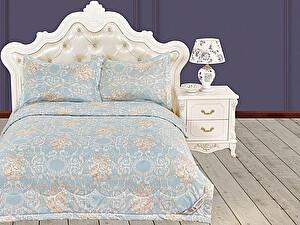 Постельное белье KAZANOV.A. Пандора, голубая платина с покрывалом