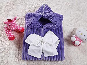 Купить конверт для новорожденных KAZANOV.A. Infanty с капюшоном, синий