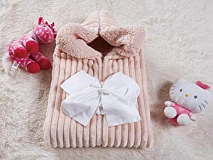 Купить конверт для новорожденных KAZANOV.A. Infanty с капюшоном, пудра